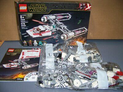 LEGO STAR WARS #75249- RESISTANCE Y-WING - COMPLETE / NO MINIFIGURES - NEW!