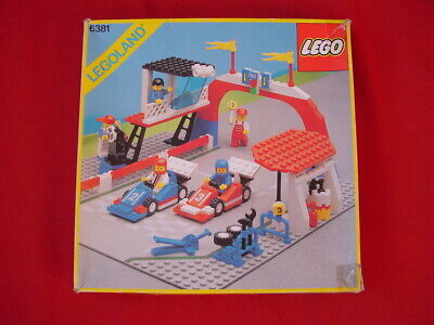 LEGO TOWN 6381 MOTOR SPEEDWAY RACING SET - COMPLETE VINTAGE 1987 - See my items