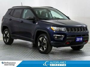 2018 Jeep Compass Trailhawk 4x4, Leather Group, Navi Group!