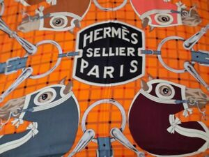 Hermes 95% new cashmere scarf size 140 x 140