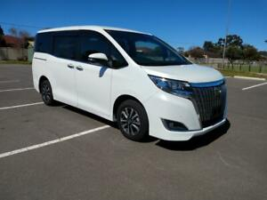 2019 Toyota Noah Voxy Esquire Welcab Sloper Wheelchair Accessable Auto Pearl White Marion Marion Area Preview