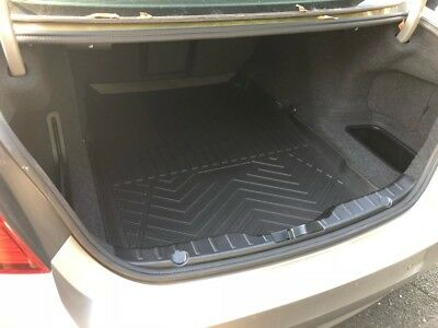 All Weather Cargo Liner Floor Mat Black for BMW 5 Series F10