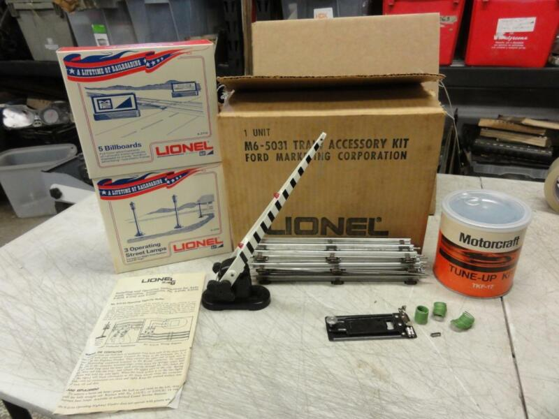Vintage NOS MPC Lionel Train Display Ford Marketing Kit Autolite Tune Up Kit