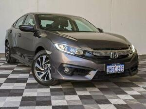 2016 Honda Civic 10th Gen MY16 VTi-S Grey 1 Speed Constant Variable Sedan Victoria Park Victoria Park Area Preview