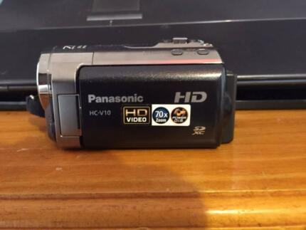Panasonic HC-V10 High Definition Camcorder (Black) Kingsgrove Canterbury Area Preview