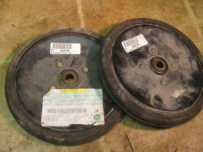 2 John Deere An281359 Grain Drill Planter Press Wheels 750 1560 1690 1890 1530