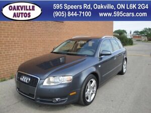 2006 Audi A4 3.2L/NO ACCIDENTS/ LEATHER, ROOF/