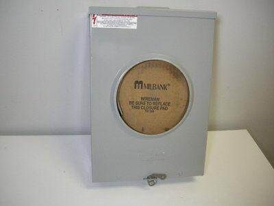 Milbank U7040-xl-tg-hsp Ringless 3r 4 Terminal Meter Socket 600v Ac 200a