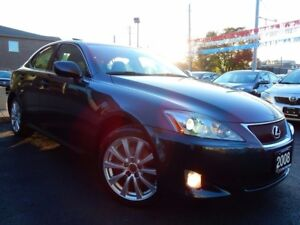2008 Lexus IS 250 AWD   PREMIUM   LEATHER.ROOF   LOW KMS