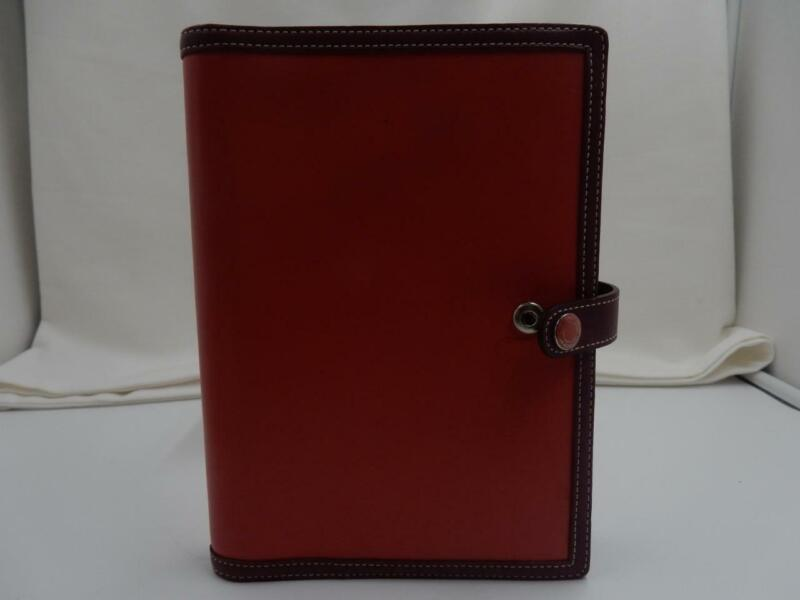 Vintage Coach Leather  Agenda, Notebook - Pink/Purple Leather - EUC