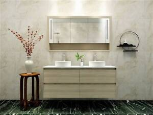 Introducing New Light Oak Vanity 1500mm/1800mm from $1099