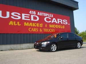 2011 Honda Civic Sdn SE Sunroof Alloys only 57k