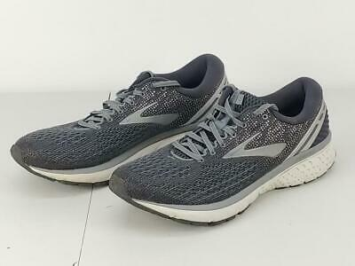 4575b0f7c1562 Brooks Men s Ghost 11 Running Shoes Gray Silver Size 11.5(D)