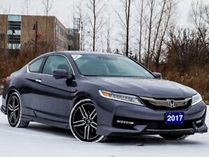2017 Honda Accord Tour V6 - 1OWNER|BLINDSPOT|SENSORS|NAVI|LEATHE