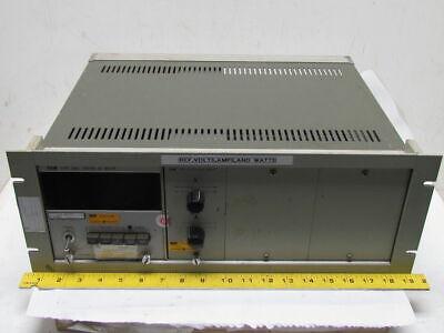 Yew Yokogawa 2504-32 Digital Ac Meter 115v Type 2504 Winput Module 2514-07