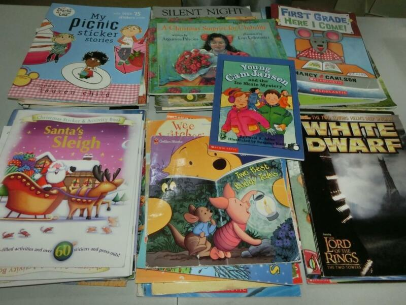 Huge Lot 57 K 1st  2nd 3rd  Grade AR Picture Books TEACHER LIBRARY