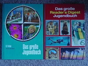 6 x Das große Jugendbuch Readers Digest Verlag Spannung Sachbuch Geschichten