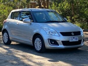 2014 Suzuki Swift FZ MY14 GL Silver 4 Speed Automatic Hatchback Ringwood Maroondah Area Preview