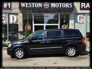 2011 Chrysler Town & Country TOURING*BTOOTH*PWR GRP*DVD*STOWNGO*