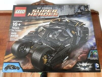 LEGO Batman The Tumbler 76023  New and Sealed Retired Set