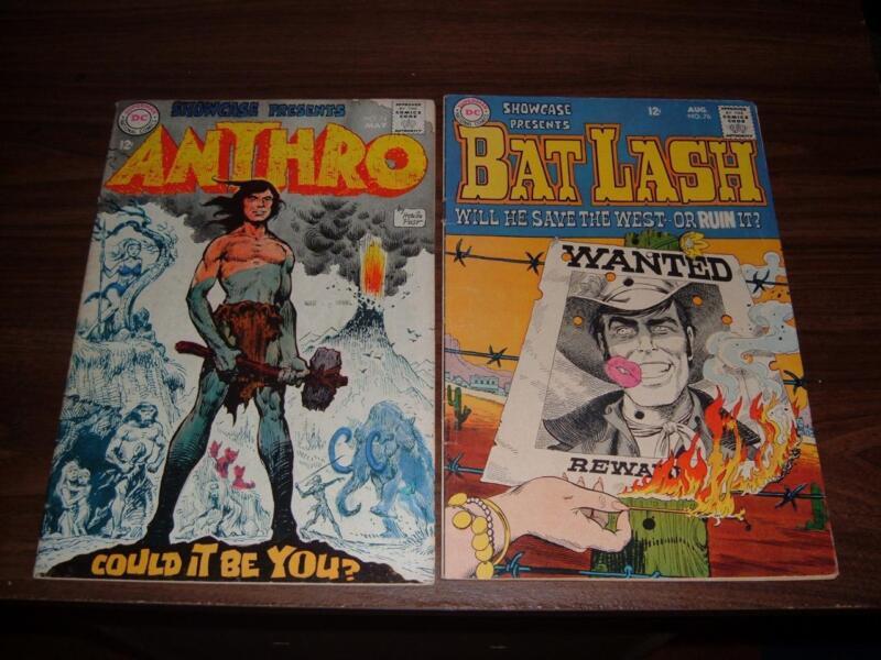 Showcase 74, 76, 82, 83, 84, 94---lot of 6 comic books