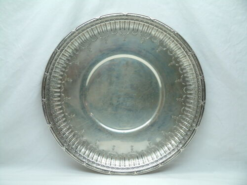 Gorham Sterling Silver Serving / Plate / Tray - #497 - 41 oz - Marie Antoinette