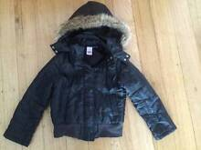 Girls size 8 hooded warm jacket Corio Geelong City Preview