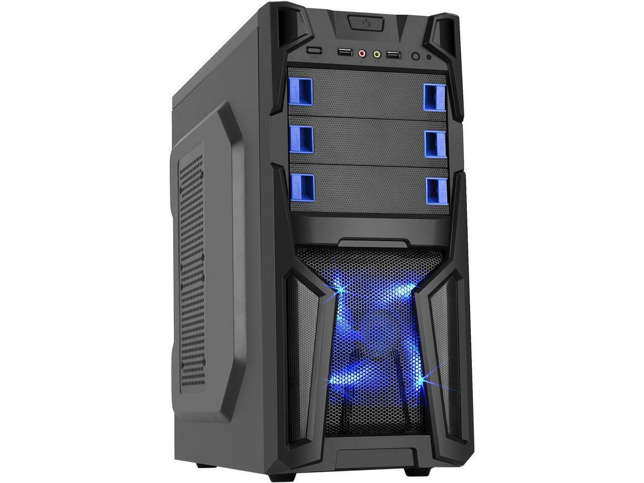 Custom Built Gaming PC AMD Ryzen 16GB 1TB HDD Desktop Comput
