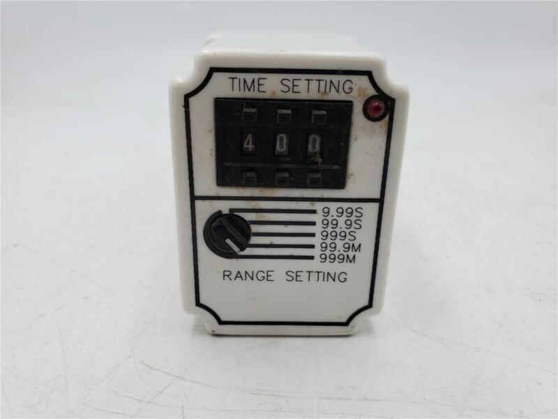 Square D On Delay Timing Relay, Class 9050, Type JCK60V20, 120 vac, series A