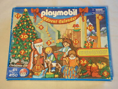Playmobil Christmas Eve Advent Calendar 4150 Play Set *NEW in DAMAGED BOX*