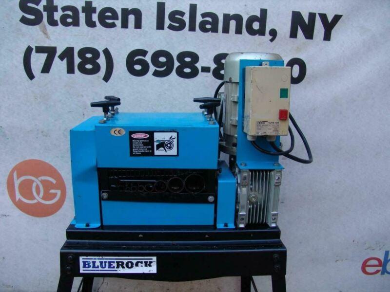 Bluerock Tools WS-212 Wire Stripping Machine Copper Stripper Works Well