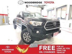 2018 Toyota Tacoma SR5|DOUBLE-CAB|6FT-BED|R-CAM|H-SEATS|LOW KMS