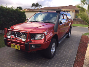 2009 Nissan Navara ST-X 4x4 Casula Liverpool Area Preview