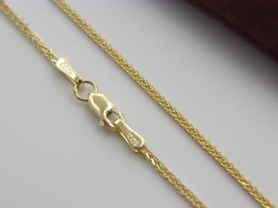 Solid 14K Gold Franco Chain Necklace Real Gold  Wholesale Prices