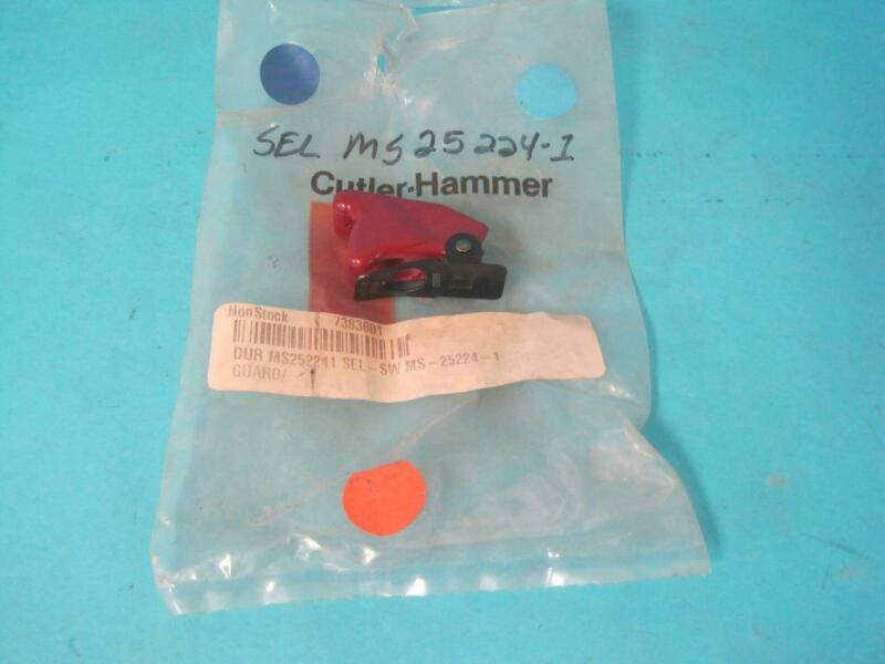 NEW Cutler Hammer MS25224-2 Military Mil Spec 8497K2 Red Locking Switch Guard