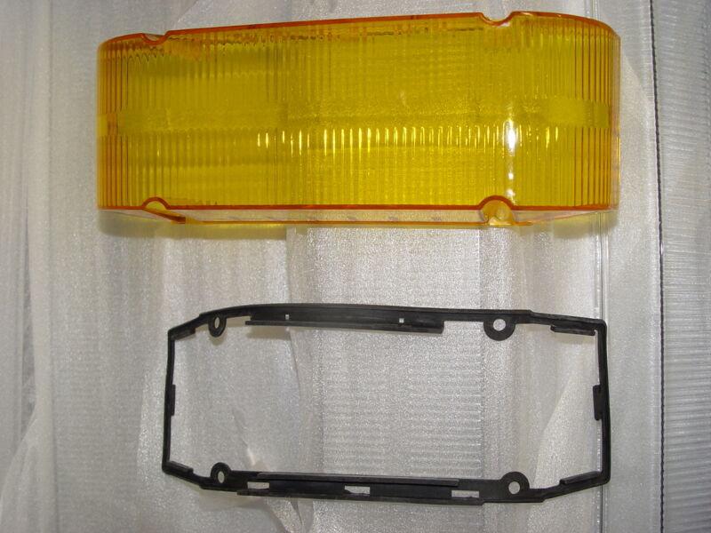 New Amber Endcap for Whelen Edge Lightbars Amber Lens No Alley