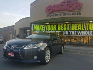 2013 Lexus ES 350 LEATHER SUNROOF H-TED WHEEL HEATED SEATS