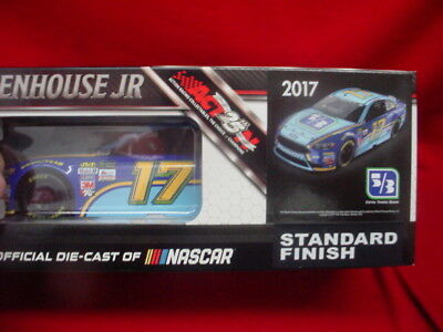 Ricky Stenhouse  17 Fifth Third Bank  Factory Autographed  1 24