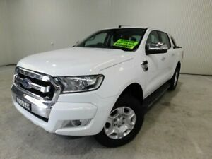 2017 Ford Ranger PX MkII MY17 XLT (4x4)DUAL DT5 White Automatic Utility