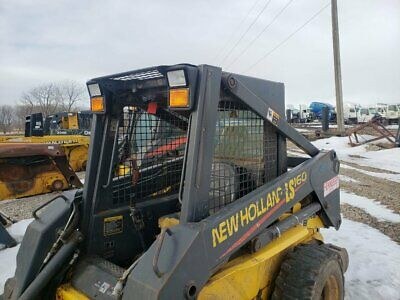 2002 New Holland Ls160 Equip Cab Assembly Pn 86631513