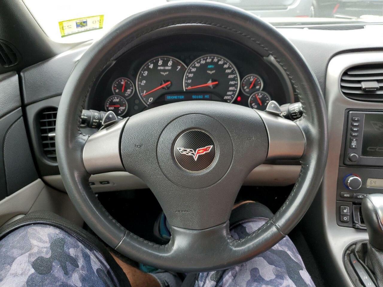 2006 Black Chevrolet Corvette Convertible  | C6 Corvette Photo 9