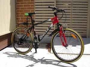 Aluminium Red Black Mountain Bike Kingsford Eastern Suburbs Preview