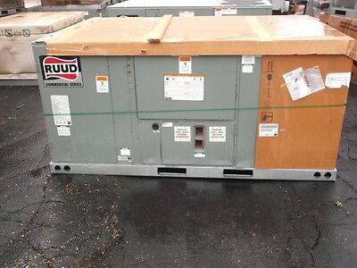 Ruud 8.5 Ton Cooling 150,000 BTU Gas Electric Unit Three Phase 208-230 Volt
