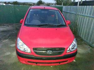 HYUNDAI GETZ 2005 - 2011 5DH RED AUTO 1.6 LOT 22-4  NOW WRECKING Kudla Gawler Area Preview