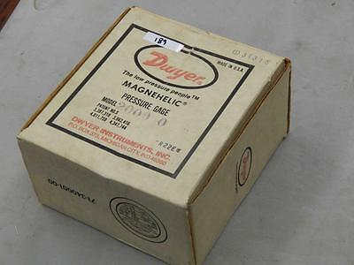 189 Dwyer 2000 0 3t315 Magnehelic Pressure Gage 0 To 0.5 In H2o New