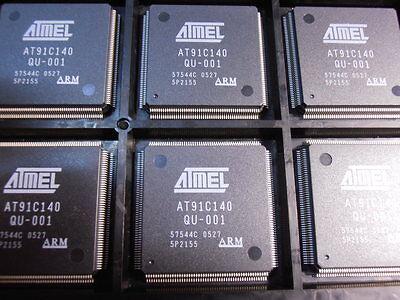 At91c140qu-001  At91 Arm Thumb Microcontrollers Pqfp208