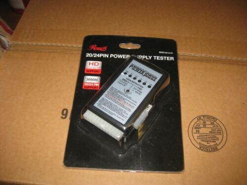 Rosewill 20/24 power supply tester new lot of 2 $16