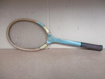 Vintage Spalding Howard O Kinsey Tennis Racquet 1920s 1930s? Cal. Tennis Club SF for sale  Shipping to Canada