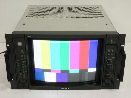 SONY BVM-1315 HR TRINITRON 13 INCH COLOR NTSC VIDEO MONITOR