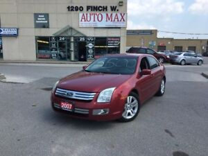 2007 Ford Fusion SEL, Sunroof, Alloy Rims, Low KM